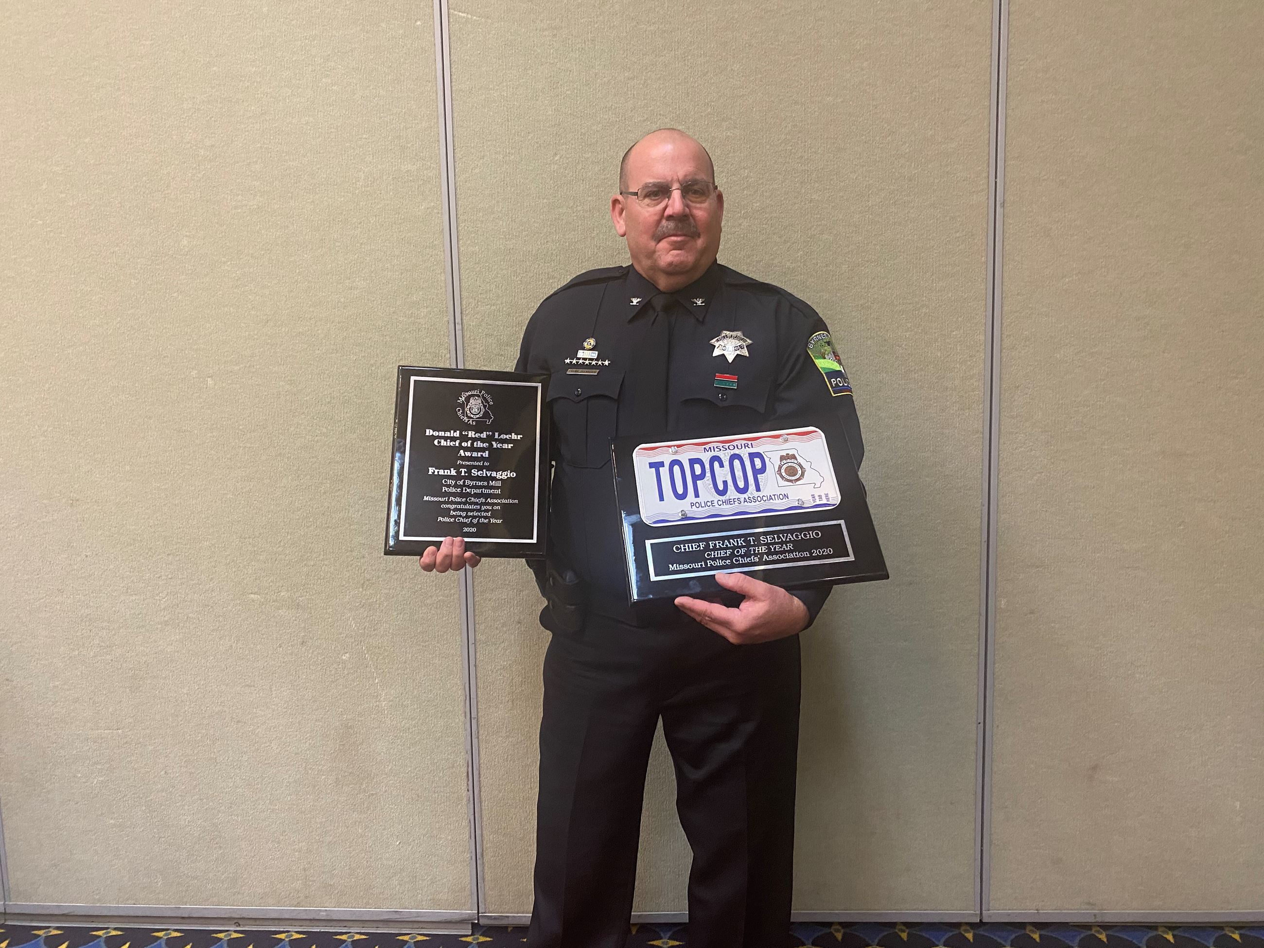 MO Police Chief of the Year